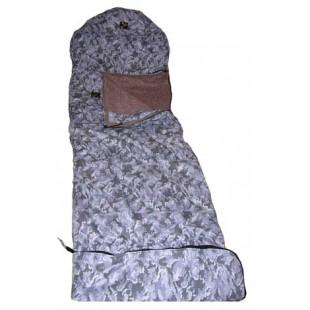 Мешок спальный из верблюжьей шерсти двухслойный