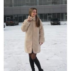 Пальто Верблюд Капучино на подкладке Мод.52р